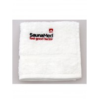 SaunaMed Infrared Saunas 100% Luxury Egyptian Cotton Super Absorbent Face Towel